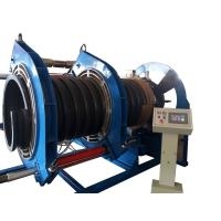 Buy cheap 600MM Butt Fusion Welding Corrugated Pipe Welding Machine For Spiral Texture PE from wholesalers