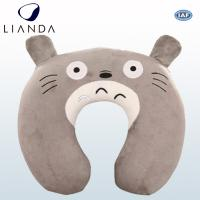 Cheap Custom U Shaped Travel Neck Pillow For Air Traveling , Animal Neck Support for sale