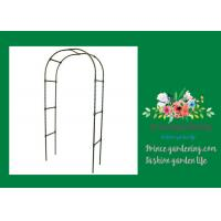 Cheap Steel Garden Plant Trellis / Garden Arch Trellis Support 140 X 240cm for sale