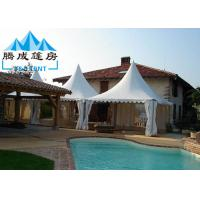 Best Hot Dip Galvanized Outside Tents For Parties , Easy Assembled Pop Up Pagoda wholesale