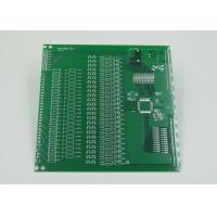 Best Silver Plated Impedance Controlled PCB with 2mil Trace Green Solder Mask wholesale