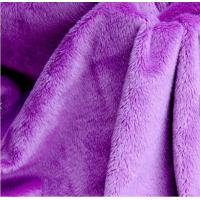 Details of wholesale polyester grey minky smooth fabric for Cheap baby fabric