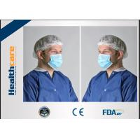 China Blue Disposable Face Mask With Earloop Comfortable 4 Ply 2 Ply 3 Ply Light Weight on sale