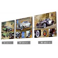 Cheap PET Plastic Printing Service / 3D Lenticular Pictures 40x40cm Home Decoration for sale
