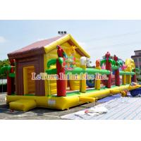 Best High Durability Children'S Obstacle Course / Bouncy House Combo Inflatable wholesale