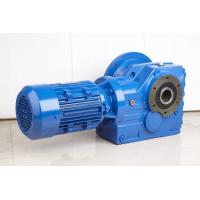 Best High Efficiency Helical Bevel Geared Motor Hollow Shaft Gearbox With IEC Or NEMA Motor wholesale