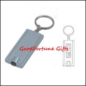Best Rectangle LED light Keyrings keychain printed logo gift wholesale