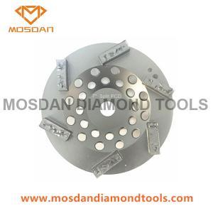 Best 7'' Split PCD Cup Grinding Wheel with 6 Bars Diamonds wholesale