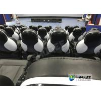 Cheap Exciting 5D Cinema Equipment , 5D Luxury Motion Seats With Vibration Effect In for sale