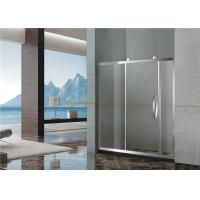 Best 8 / 10 MM Mirror Color Shower Enclosures With Stainless Steel  Accessories for Home wholesale