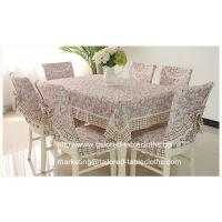 Best Where to buy custom fabric tablecloths? we offer oblong floral table linens wholesale, wholesale