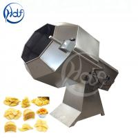 Buy cheap High Efficiency Small Scale Potato Chips Machine , Potato Chip Seasoning Machine from wholesalers