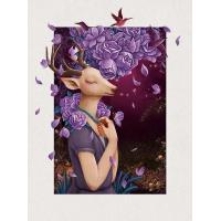 High Quality 5d Picture, 5d Pictures Lenticular, 5d 30*40cm Picture for Home Decoration