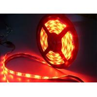 Cheap Red Green Blue Yellow Waterproof LED Strip Lights Outdoor High Intensity CE ROSH for sale