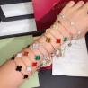 Buy cheap Charming 18K Gold Van Cleef Jewelry , Vintage Alhambra Bracelet 5 Motifs van from wholesalers