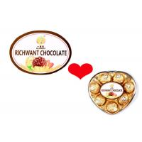 Hot Stamping Chocolate Custom Food Labels With Full Color Printing
