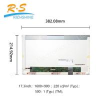 Best HD LED Display Screen 17.3 inch LCD Screen 1600x900 B173RW01 V5 Replacement Panel wholesale