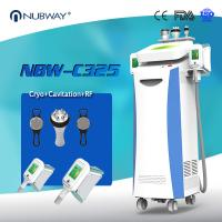 Buy cheap 80% clinic used Promotion 5 handles (Crolipolisis+RF+vacuum+cavitation) from wholesalers