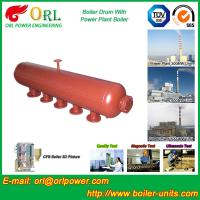 Best Water Heat Boiler Mud Drum Anti Wind Single Type , Mud Drum In Boiler wholesale