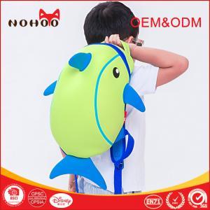 Best Lightweight 3D Cartoon Kids Travel Backpack Dolphin Style shockproof wholesale