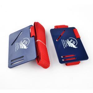 China Plastic Card Hook Loop Elastic Hook Loop Straps / Book Carry Strap OEM , Reusable on sale