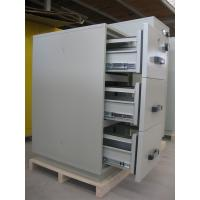 Best Steel 3 Drawer Fireproof Locking File Cabinet For Paper Documents wholesale