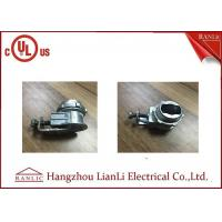 3/8 Flexible Conduit Fittings Galvanized Saddle Connector for Metallic