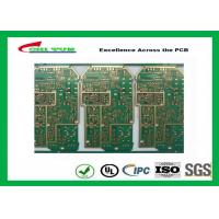 Best PCB Design And Fabrication PCB Engineering 6 Layer Hard Gold Surface Treatment wholesale