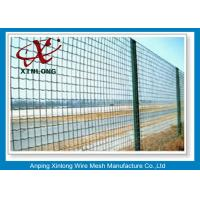 Best Hot Dipped Galvanized Euro Panel Fencing Corrosion Resistant For Boundary wholesale