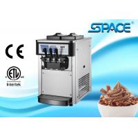 Best Small Commercial Ice Cream Machine Table Top Twin Twist Flavor 20Liters/Hour wholesale