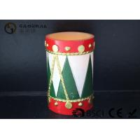 Best Tree Shaped Christmas Led Candles With Timer Energy Saving 8*12cm wholesale