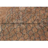 Buy cheap Woven Gabion Wire Mesh Boxes Heavy Galfan + PVC Coated For Coastal Protection from wholesalers