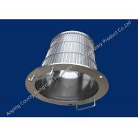 Best Stainless Steel Wedge Wire Basket Different V Wire Baskets Rotary Drum Screen Filter wholesale
