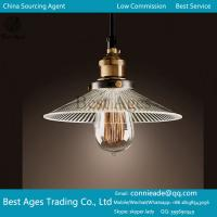 Best Modern Clear Glass Shape Ceiling Lamp Shade Pendant Light Chandeliers Fitting wholesale