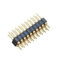 Cheap DIP WCON Connector PCB 2.54mm Round Pin Connector 8 Pin With PPS PA46 Or PA6T Insulator for sale