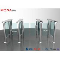 Best Electronic Waist Height Turnstiles Rfid Security Gate Barrier Space Saving Servo Morto wholesale