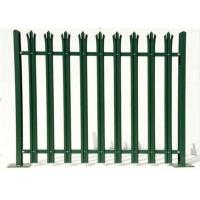 Best Durable W Section Green Palisade Fencing , Single Point Road Security Fence wholesale