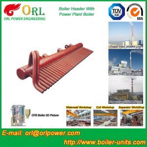 Best ASME Standard Low Loss Header Boiler Parts / Boiler Steam Header wholesale