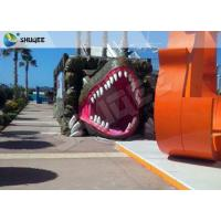 Best Vivid Green Dinosaur 5D Movie Theater Nine Seats With Luxury Chairs wholesale