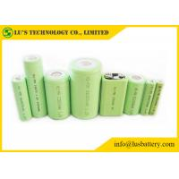 Best NIMH Rechargeable 9 Volt Nickel Metal Hydride Battery 1.2V OEM / ODM Welcome size 1/2A 1/2AA A AA AAA C D F SC recharge wholesale