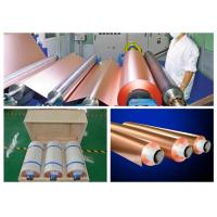 Best HTE RA PCB Copper Foil 76mm / 152mm Inter Dimater 0.009 - 0.09mm Thickness wholesale