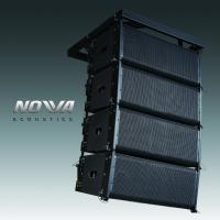 Best Pro Audio Line Column Array Speakers 10 Inch For DJ Performance / Pub wholesale