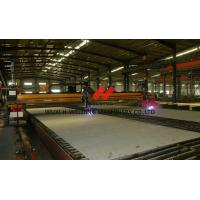 China Double Side CNC Flame Plasma Cutting Machine 60M/Min , High Strength Metal Cutting Machinery on sale