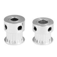 Best Aluminum 18 Tooth 2GT 18 3D Printer Timing Pulley Synchronous Wheel wholesale