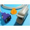 Buy cheap DB 14 Pin Nellcor Pulse Oximeter Probes, Reusable Covidien Nellcor Spo2 Sensor from wholesalers