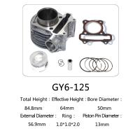 Best Durable Aftermarket Motorcycle Cylinder Kit GY6 125 For Honda Halma 125 Scooter wholesale