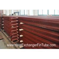 Quality A192 SMLS Carbon Steel H Fin Bolier Square Fin Tube of  Waste Heat Recovery Unit wholesale