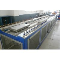 Cheap Double Screw Extruder Wood Plastic PVC Extrusion Line For Kitchen Cabinet Board for sale