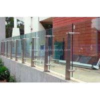 Quality High Strength Security Toughened Glass Balustrades And Handrails wholesale