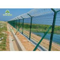 Best Easy Install Powder Coated Fence Panels  2.03 × 2.5m With 50 × 200mm Mesh wholesale